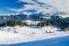 Winterberglandschaft Lizenzfreie Stockfotografie