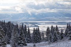 Winterberglandschaft in Tatras slowakei Lizenzfreie Stockfotografie