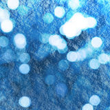 Winterbokeh Royalty Free Stock Photography