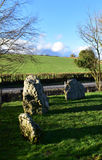 Winterbourne Abbas Nine Stones Royaltyfria Bilder