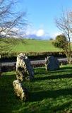 Winterbourne Abbas Nine Stones Imágenes de archivo libres de regalías
