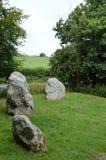 Winterbourne Abbas Nine Stones Royaltyfria Bilder