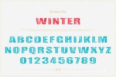 Winterdekor vektor abbildung