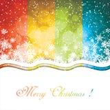 Wintereinladungspostkarte Lizenzfreie Stockfotografie