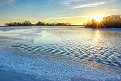 Wintereis Lizenzfreies Stockbild