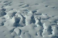 Wintereis und -natur Stockbild