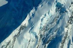 Wintereis und -natur Lizenzfreies Stockbild