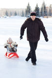 Wintererholung Stockfotos