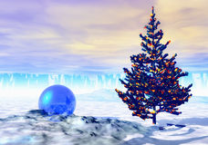 Winterfeiertag vektor abbildung