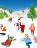 Winterfeiertage Lizenzfreie Stockfotos