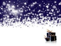 Winterfeiertagshintergrund lizenzfreie abbildung