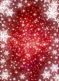 Winterfeiertagshintergrund Stockbild