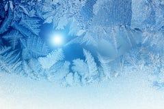 Winterfenster lizenzfreies stockbild