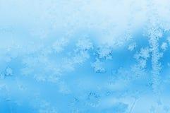 Winterfenster Stockbild