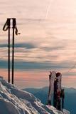 Winterferien Stockbild