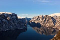 winterfjord στοκ εικόνες
