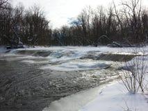 Winterfließen Lizenzfreie Stockfotografie