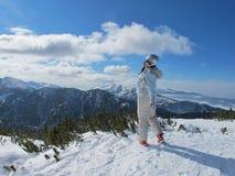 Winterfrauenski lizenzfreies stockbild