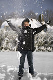 Winterfun fotografia stock