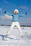Winterfun Stock Photography