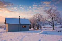 Wintergarden royalty-vrije stock afbeeldingen
