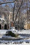 Wintergarden nära teatern Arkivfoto