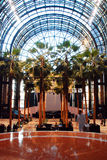 The Wintergarden is New York's World Financial Center Stock Photography