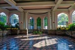 Wintergardenrummet på casaen Loma Toronto Arkivbild