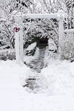 Wintergarten Lizenzfreie Stockfotografie