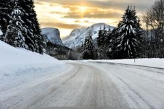 Wintergefühl Stockfotos