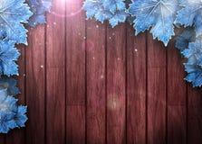 Wintergeschäft oder Einladungshintergrund Lizenzfreie Stockbilder