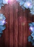 Wintergeschäft oder Einladungshintergrund Stockfotografie