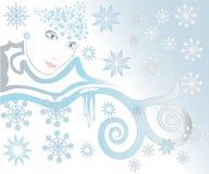 Wintergesicht Stockbild