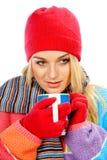 Wintergetränk Stockbilder
