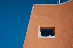 Winterhaus Stockfoto
