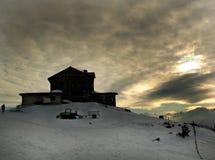 Winterhimmel Stockbild