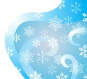 Winterhintergrund Lizenzfreie Abbildung
