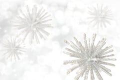 Winterhintergrund Stockfotografie