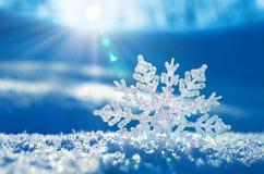 Winterhintergrund. Lizenzfreies Stockbild