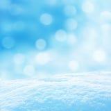 Winterhintergrund Lizenzfreies Stockfoto