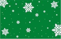 Winterhintergrund Stockbild