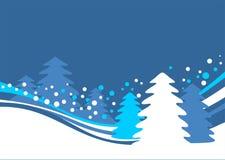 Winterhintergrund Lizenzfreie Stockfotografie