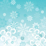 Winterhintergrund, Vektor lizenzfreie stockfotografie
