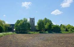 Winteringham, Lincolnshire Toda la iglesia de los santos fotos de archivo
