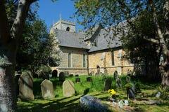 Winteringham, Lincolnshire Toda la iglesia de los santos fotografía de archivo libre de regalías