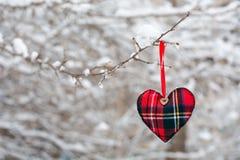 Winterinneres stockbild