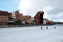 Winterjagd Lizenzfreies Stockbild