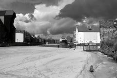 Winterjagd Lizenzfreies Stockfoto