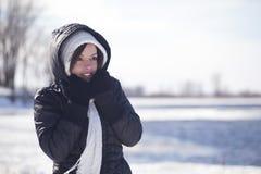 Winterkälte Stockbild