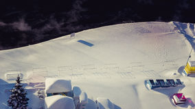 Winterküste Stockfotos